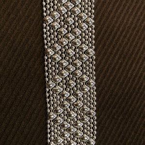 Liquid metal bracelet